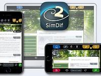 SimDif Pembuat Situs Web di iOS
